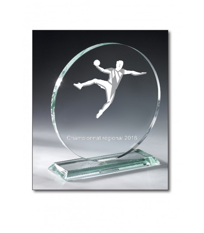 Trophy Round glass 16cm