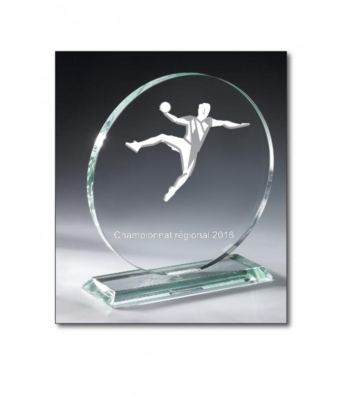 Trophy Round glass 21cm