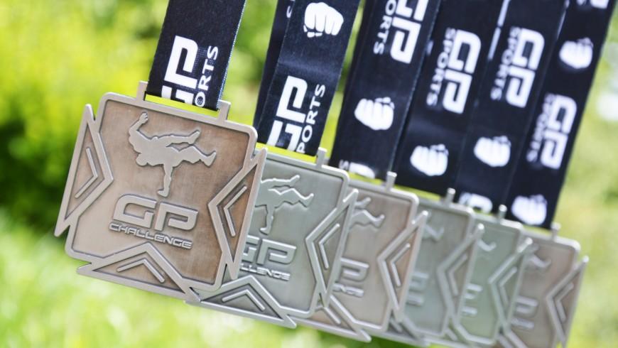 médailles de sport de combat