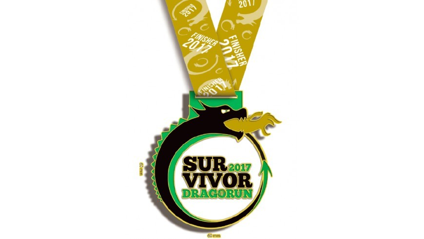 Graphic creation of my personalized medal