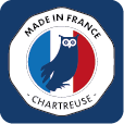 logo made in France and Chartreuse