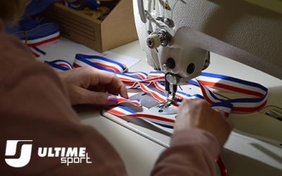 Replacement of the ribbon of your personalized medal