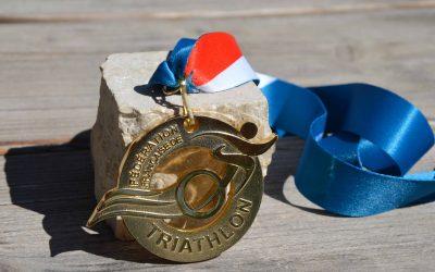 French Triathlon Federation Medal