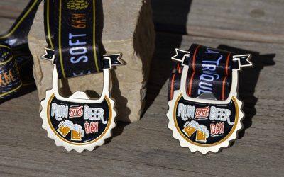 Run & Beer medal