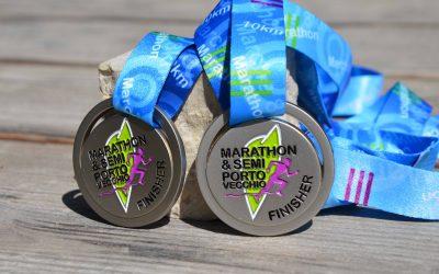 Porto Vecchio Marathon and Half-Marathon Medal