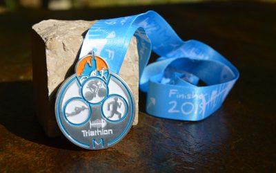 Marseille Triathlon Medal