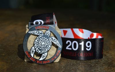 Lagoon Triathlon Medal