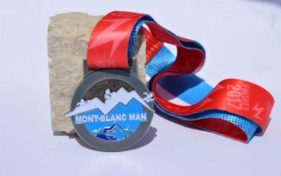 Mont Blanc Triathlon Medal