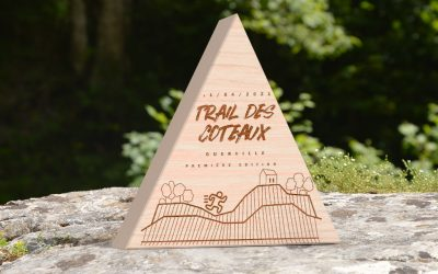 Custom Wooden Trophy for Trails